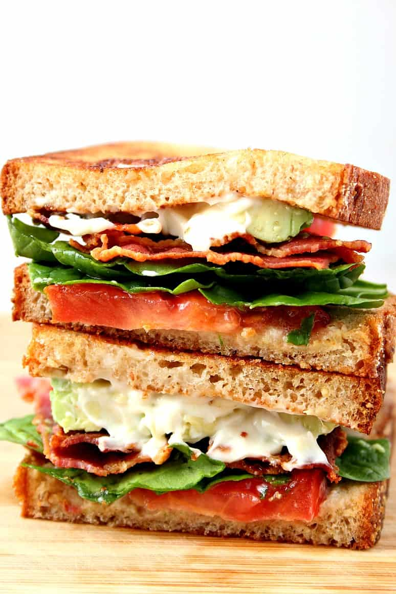 blt sandwich 3 BLT Sandwich with Avocado Recipe