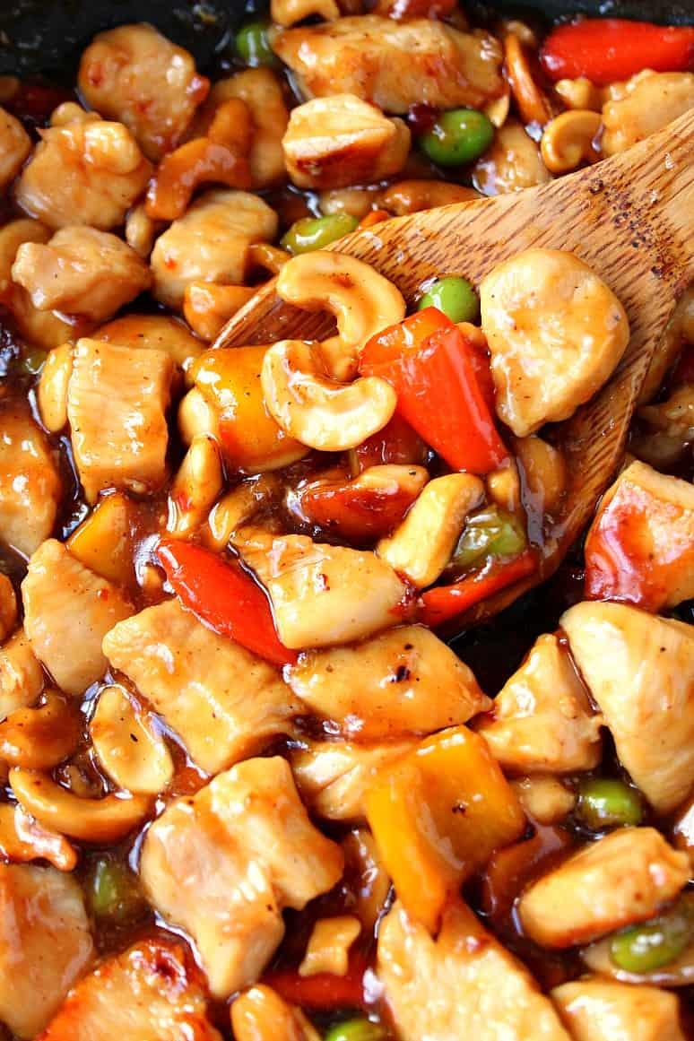 cashew chicken recipe 1 Easy Cashew Chicken