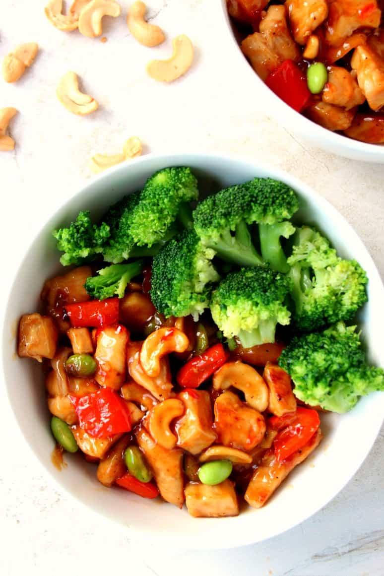 cashew chicken recipe 2 Quick and Easy Cashew Chicken Recipe