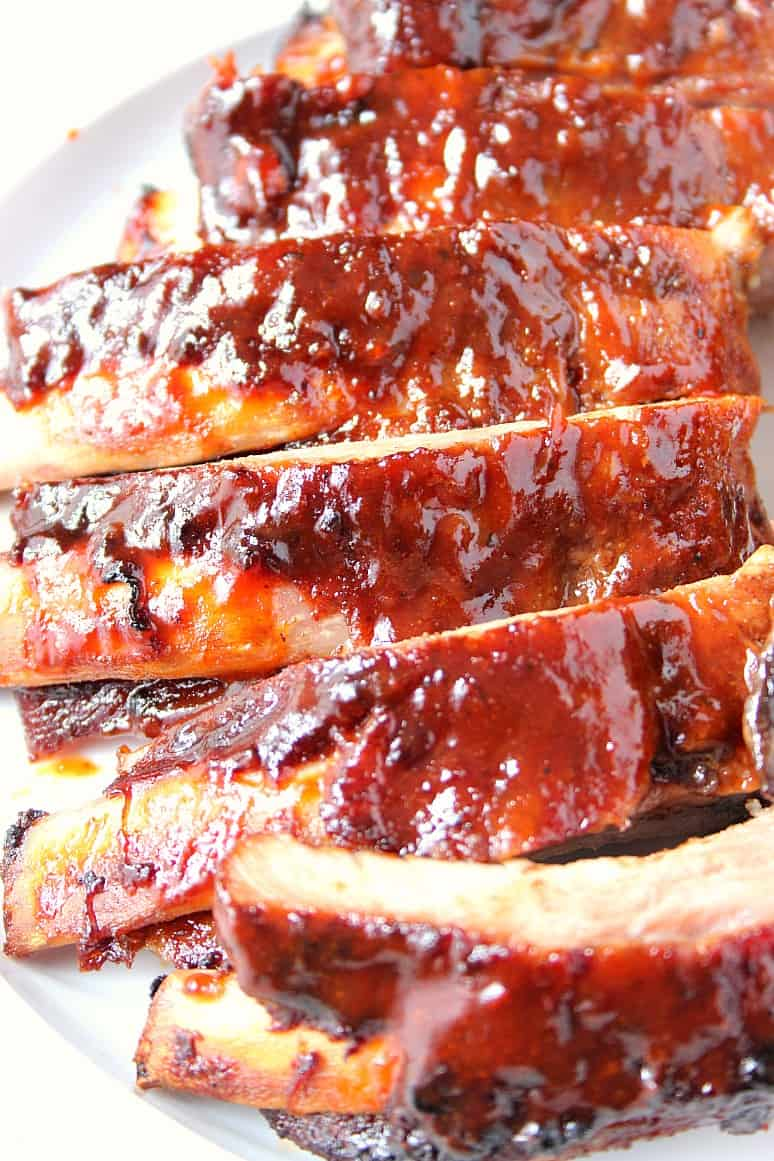 Slow Cooker Bbq Ribs Recipe Crunchy Creamy Sweet