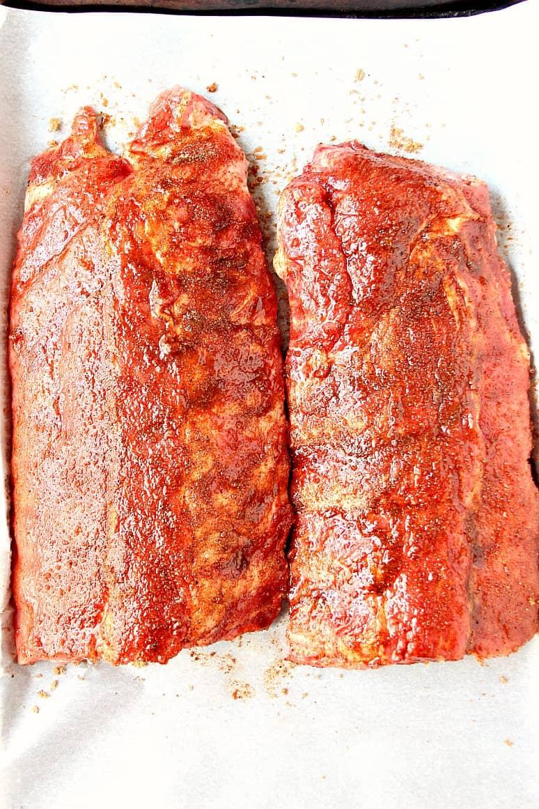 slow cooker bbq ribs 1 Slow Cooker BBQ Ribs Recipe
