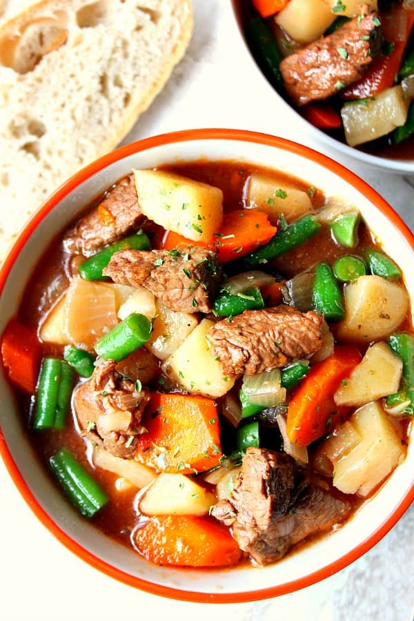 slow cooker beef stew B Best Ever Slow Cooker Beef Stew