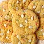 birthday cake cookies B 150x150 Birthday Cake Mix Cookies Recipe