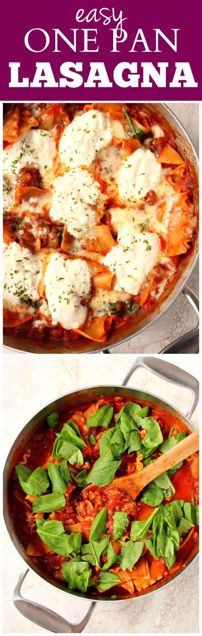 Lasagna recipes quick and easy