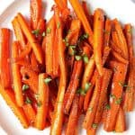 brown sugar garlic roasted carrots A 150x150 Brown Sugar Roasted Carrots Recipe