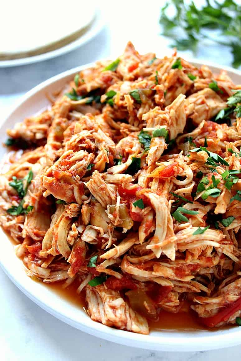 slow cooker Mexican chicken 1 Slow Cooker Mexican Chicken Recipe