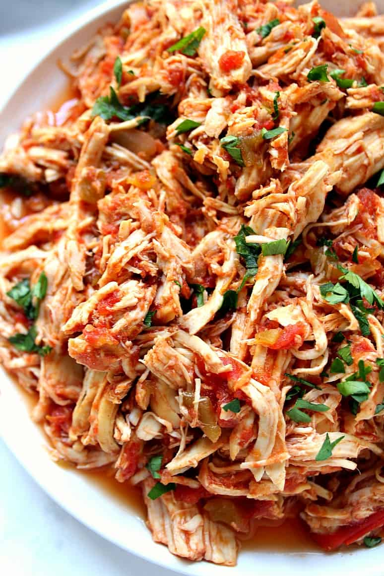 slow cooker Mexican chicken 3 Slow Cooker Mexican Chicken