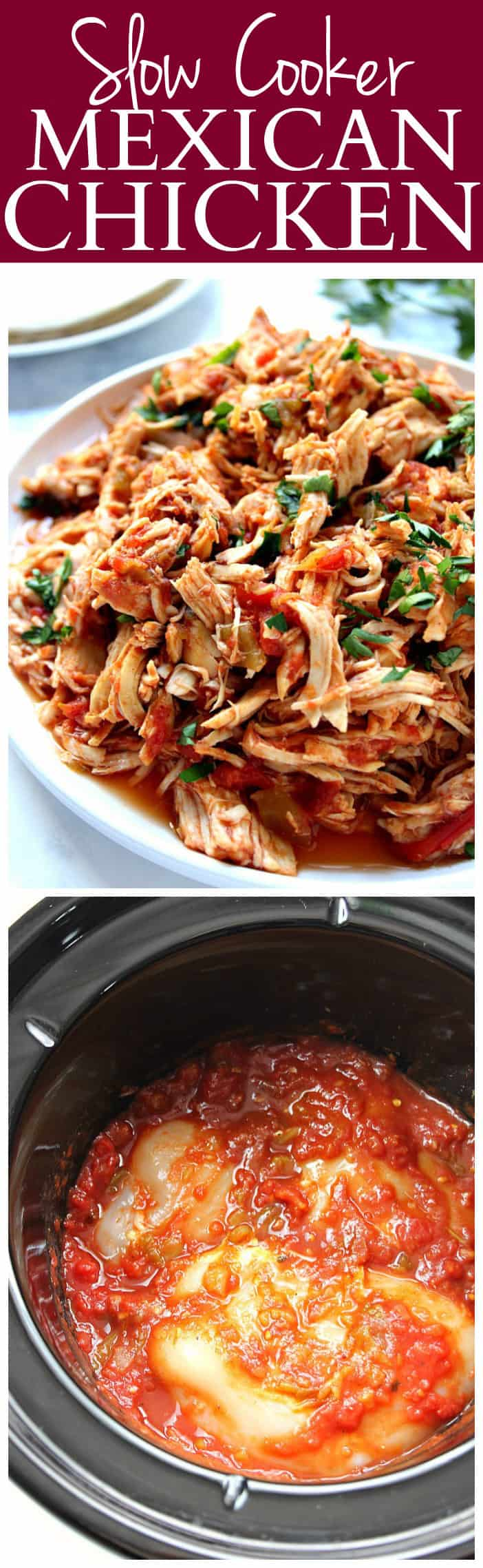 slow cooker mexican chicken recipe long1 Slow Cooker Mexican Chicken Recipe