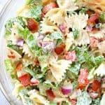 BLT pasta salad A 150x150 BLT Pasta Salad Recipe