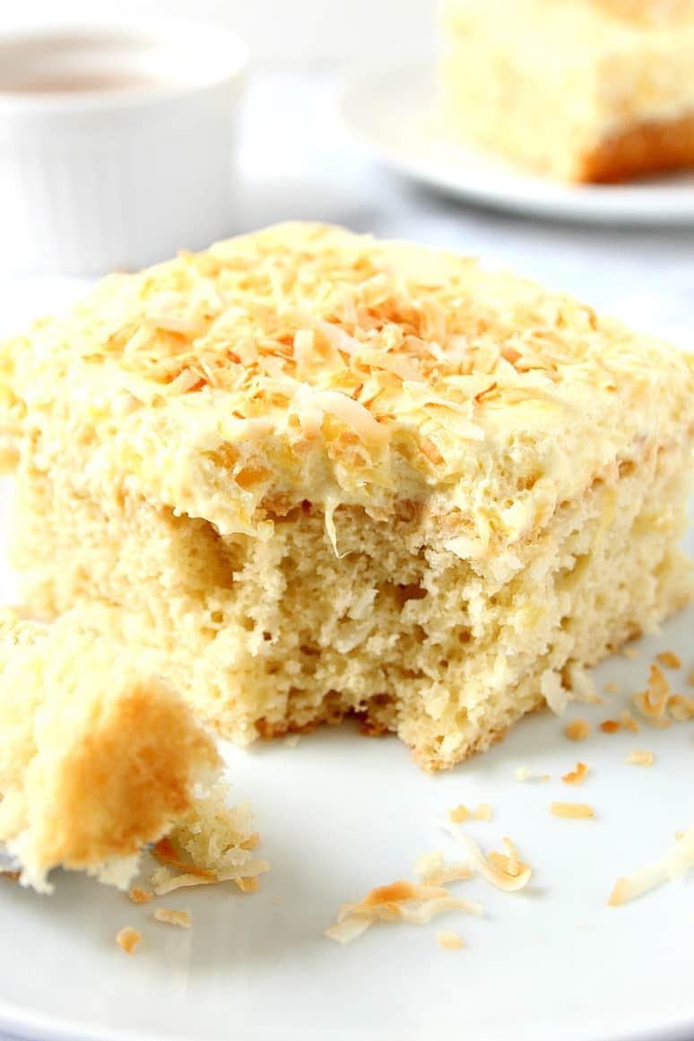 coconut pineapple cake 1 Coconut Pineapple Cake