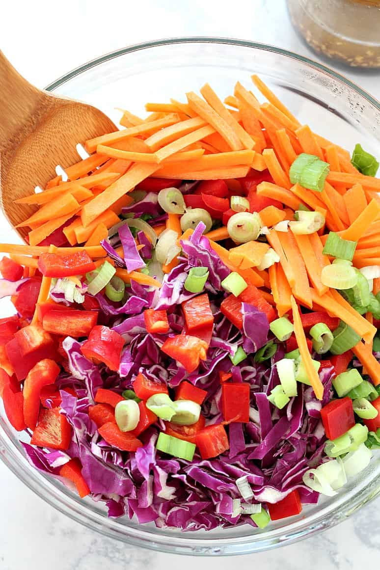 Asian chopped salad 4 Quick and Easy Asian Takeout Recipes