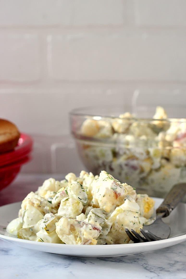 dill pickle potato salad 7 Dill Pickle Potato Salad Recipe