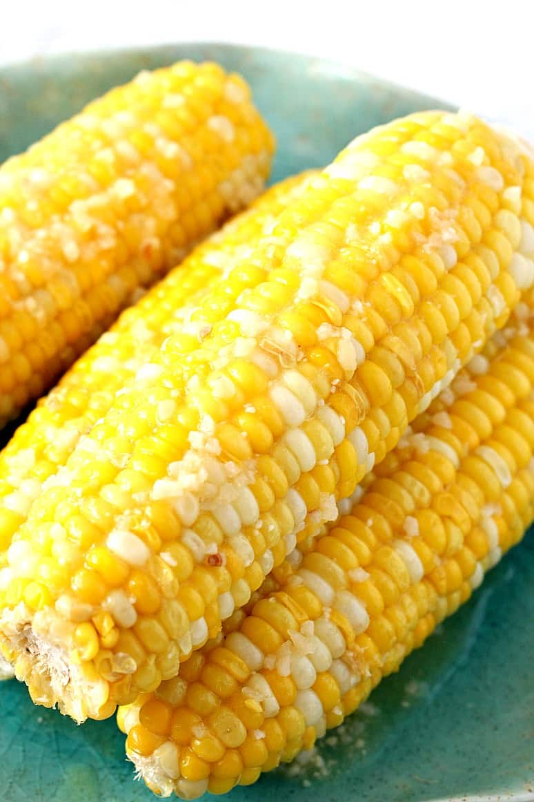 instant pot corn on the cob 4 Instant Pot Garlic Parmesan Corn on the Cob Recipe