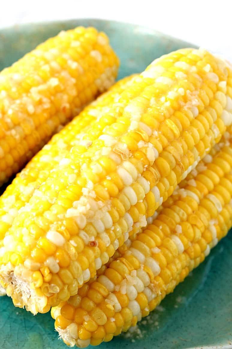 instant pot corn on the cob 4 Instant Pot Garlic Parmesan Corn on the Cob Recipe