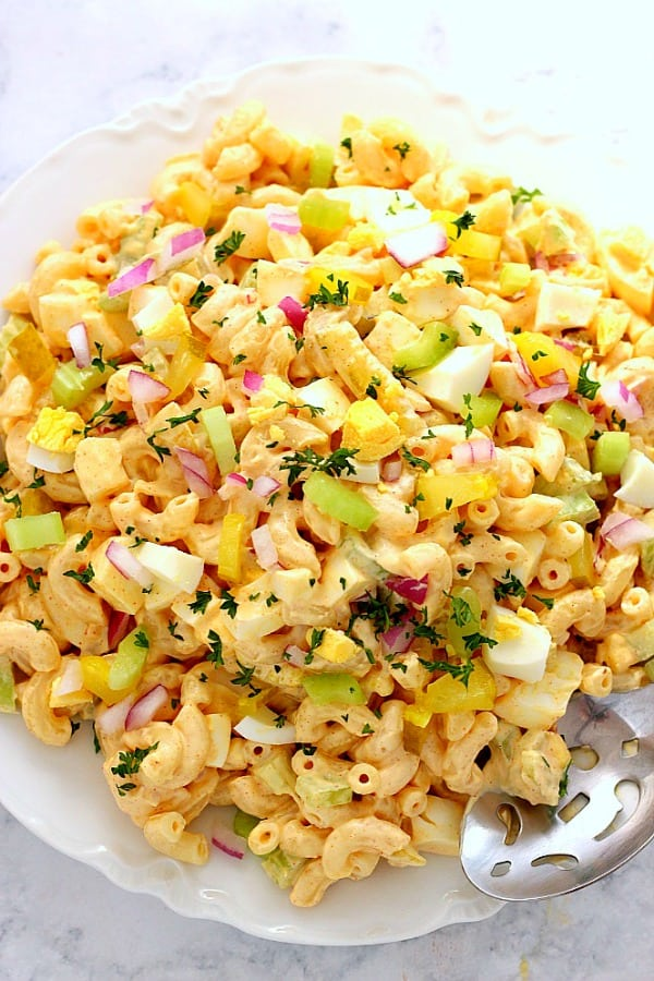 Deviled Egg Macaroni Salad A Deviled Egg Macaroni Salad Recipe
