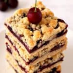 Cherry Crumb Bars make for an easy sweet treat.