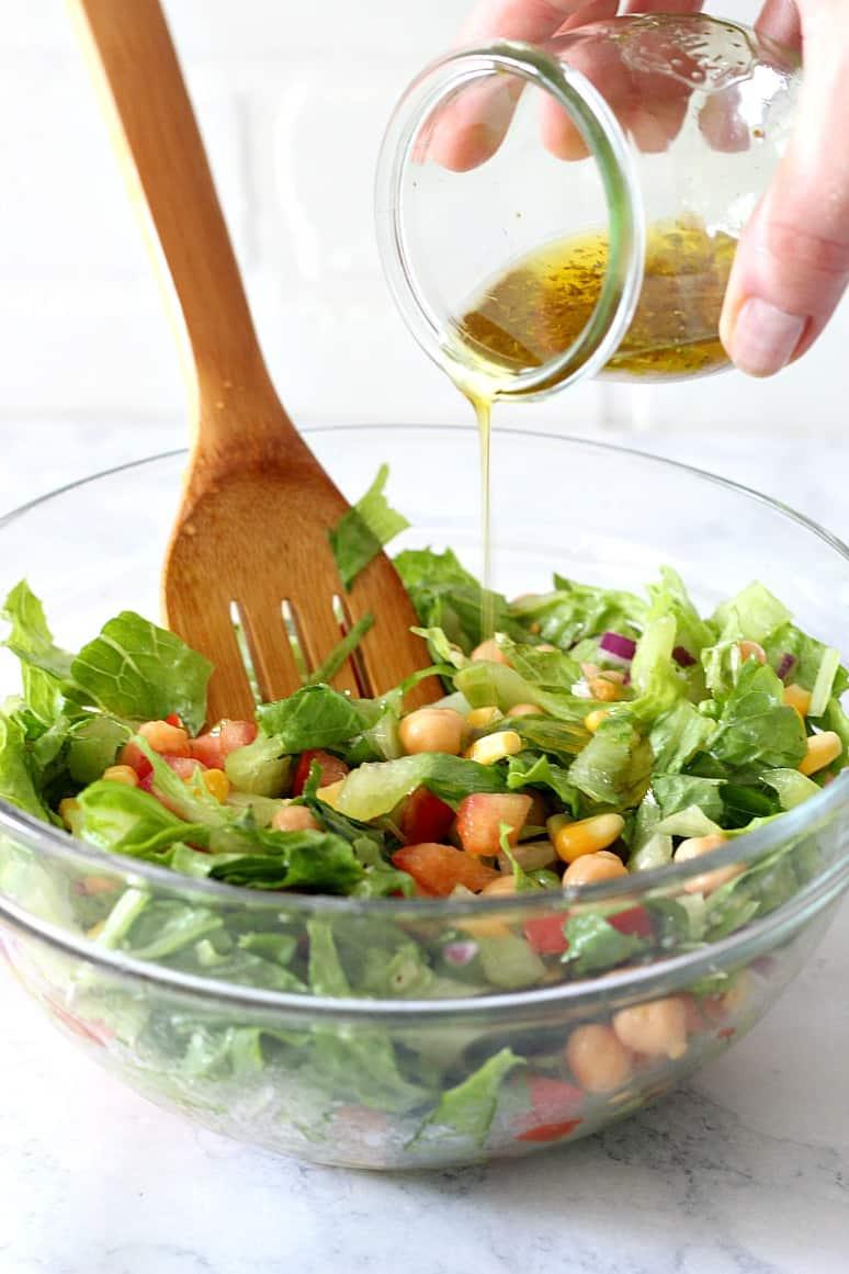 chickpea salad 6 Chickpea Salad