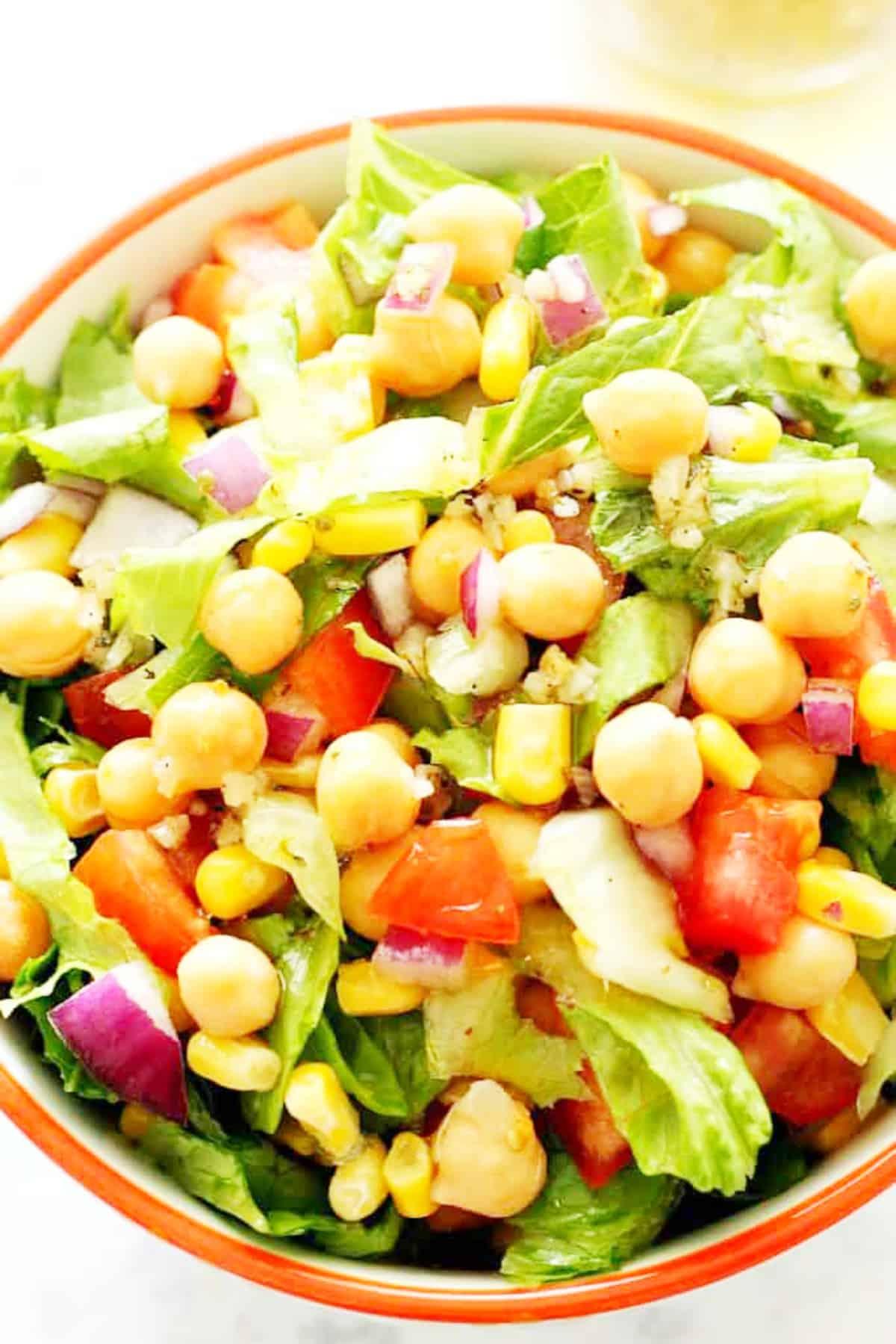 chickpea salad A1 Chickpea Salad