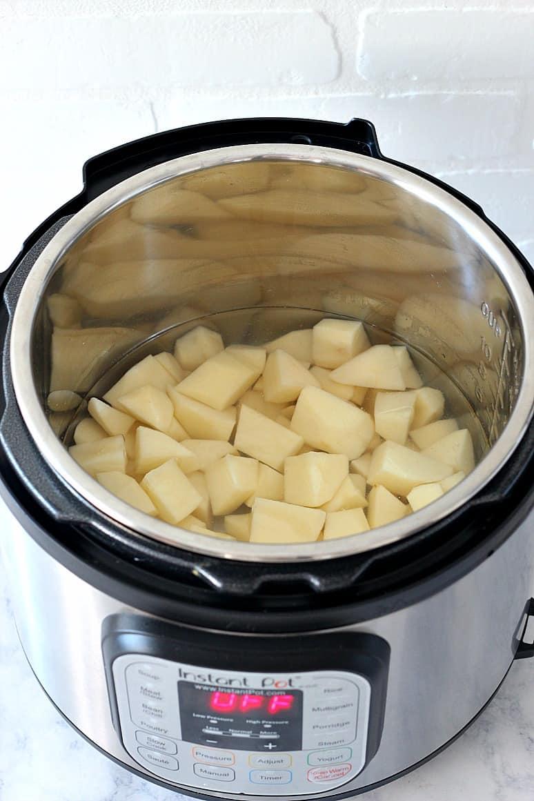 instant pot mashed potatoes 1 Instant Pot Mashed Potatoes Recipe