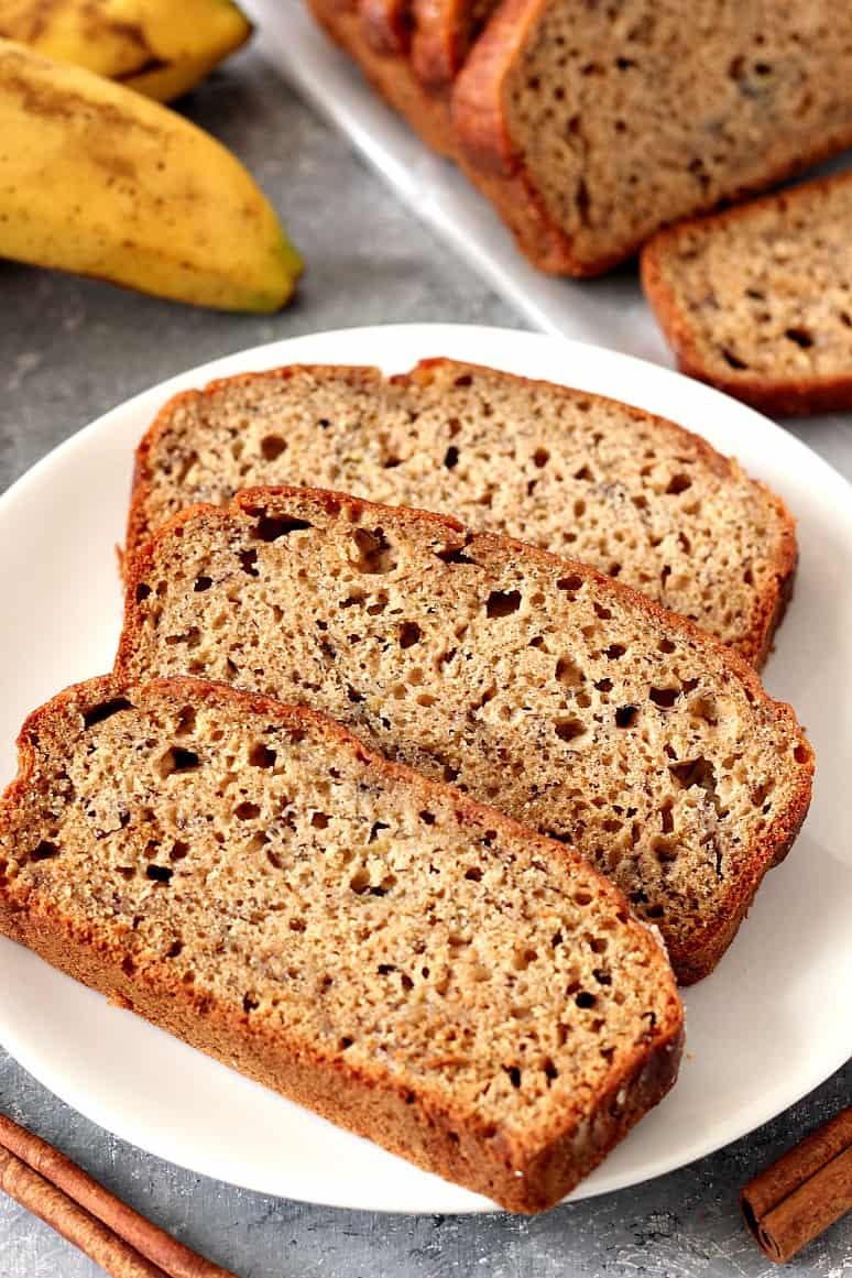 cinnamon sugar banana bread recipe 2 Cinnamon Sugar Banana Bread Recipe