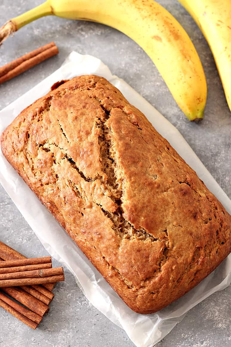 cinnamon sugar banana bread recipe 5 Cinnamon Sugar Banana Bread Recipe