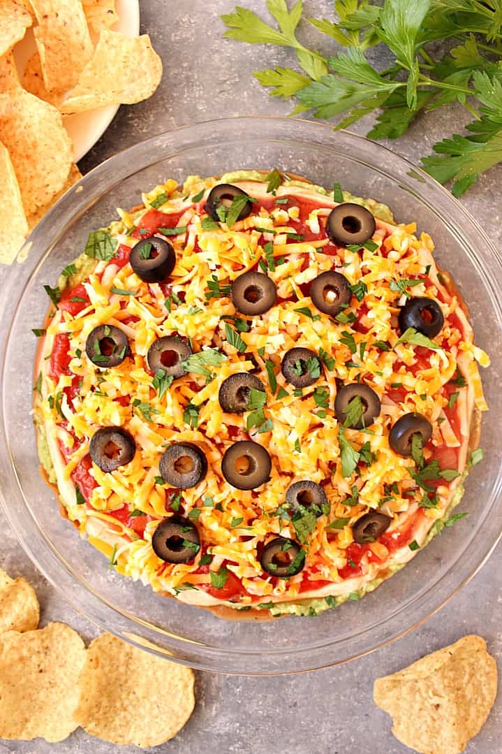 Mexican layered dip recipe 1 Mexican 5 Layer Dip Recipe