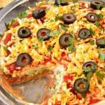 Mexican layered dip recipe a 150x150 Mexican 5 Layer Dip Recipe