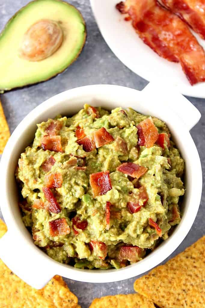 bacon guacamole recipe 2 682x1024 25 Delicious Avocado Recipes