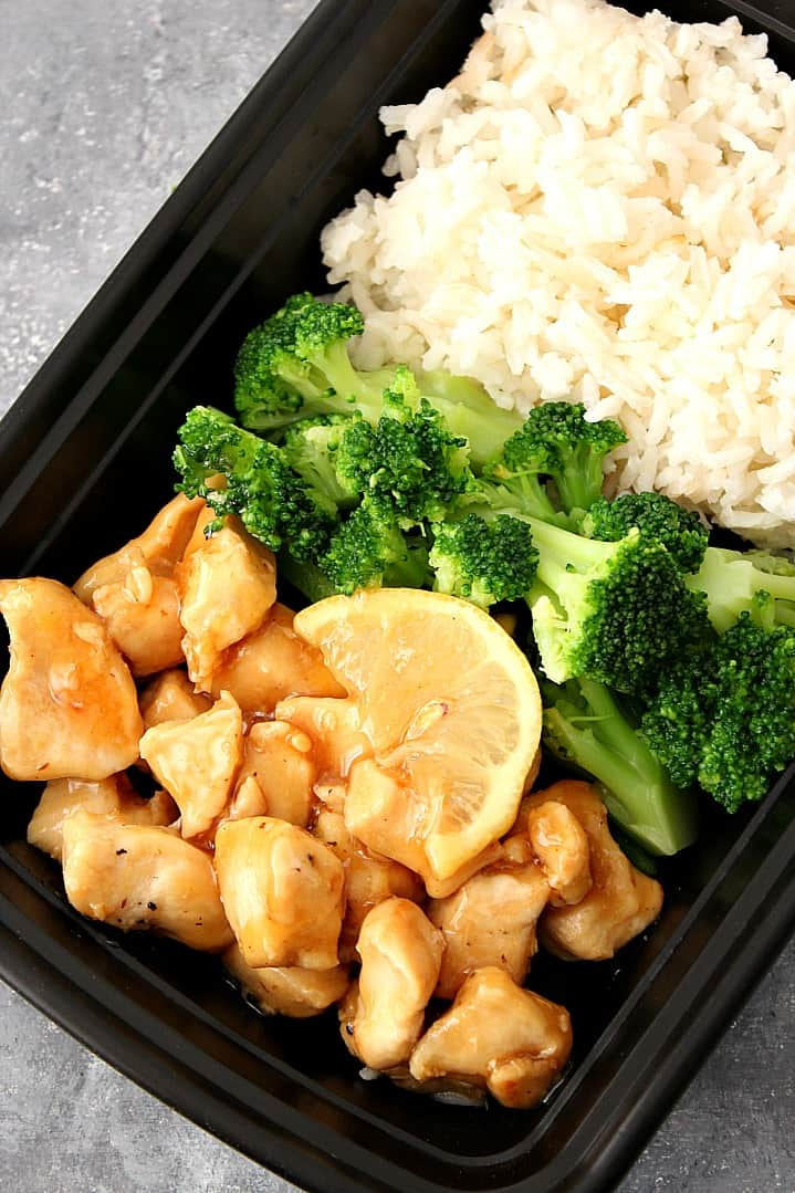 honey lemon chicken rice bowls recipe 4 Honey Lemon Chicken Rice Bowls Recipe