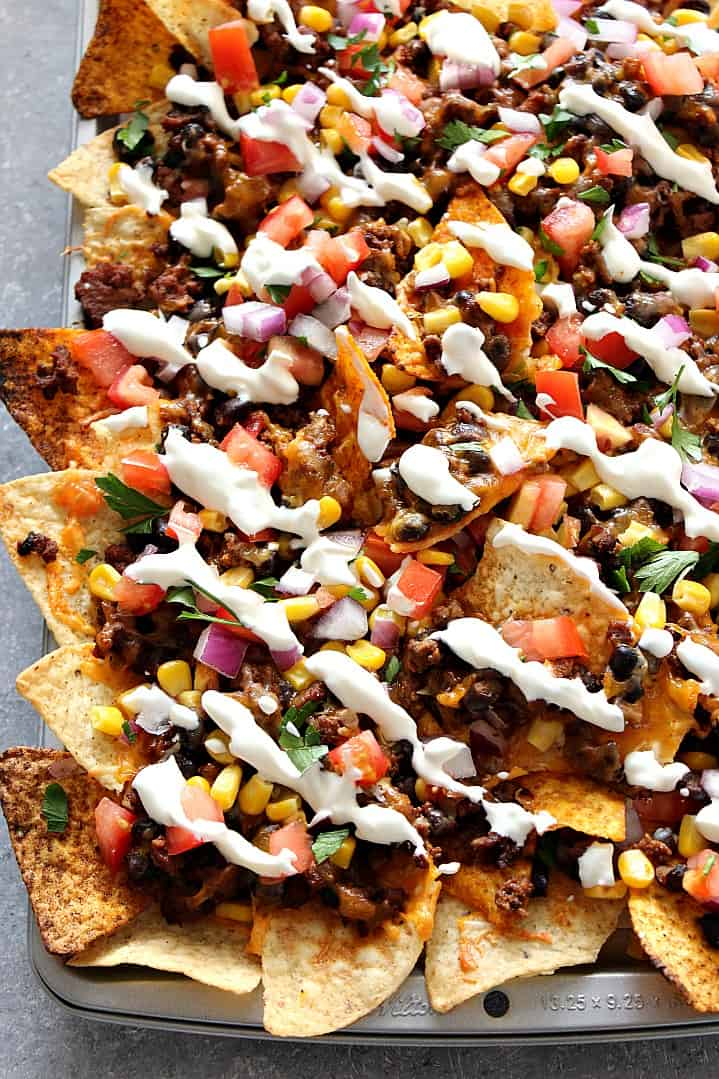 sheet pan nachos recipe 1a Sheet Pan Nachos Recipe