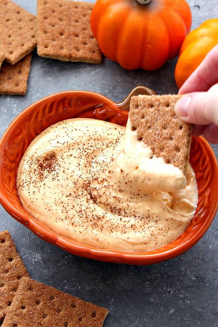 pumpkin cheesecake dip recipe 2 Pumpkin Cheesecake Dip Recipe