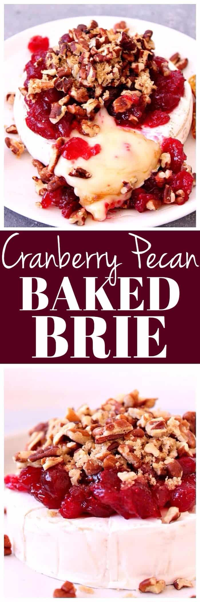 Cranberry Pecan Baked Brie Recipe long b1 Cranberry Pecan Baked Brie Recipe