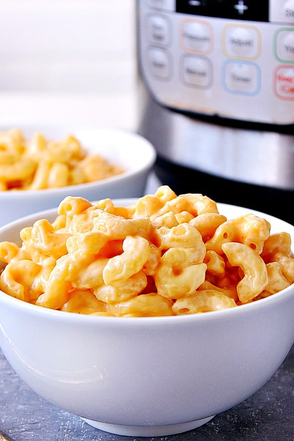 Instant Pot macaroni and cheese B 1 Instant Pot Mac and Cheese