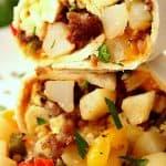 freezer breakfast burritos recipe 2a 150x150 Freezer Breakfast Burritos Recipe