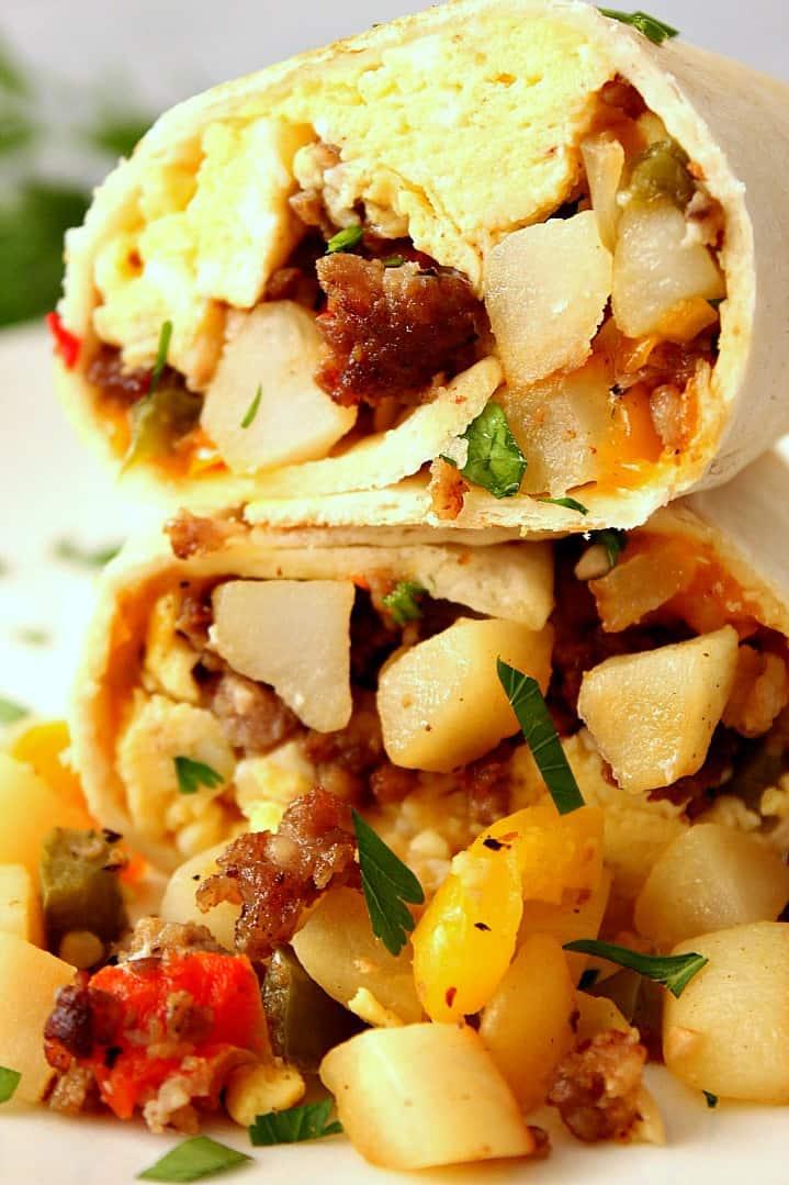 freezer breakfast burritos recipe 2a Freezer Breakfast Burritos Recipe