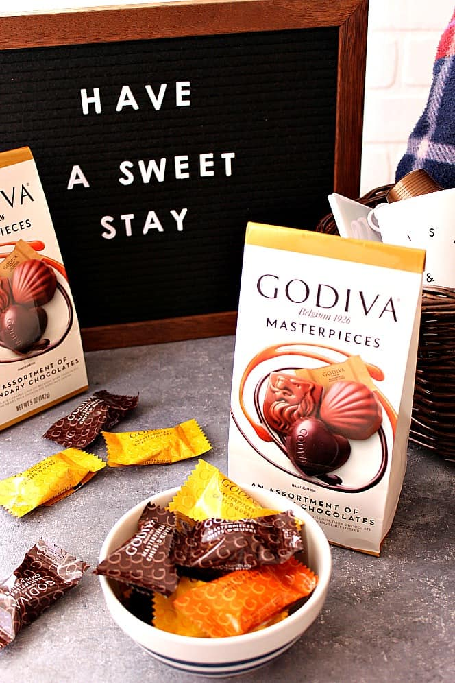 godiva 2 How To Create a Welcome Basket for Guests
