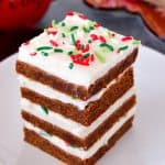 frosted gingerbread cookie bars recipe 2 150x150 Gingerbread Cookie Bars Recipe