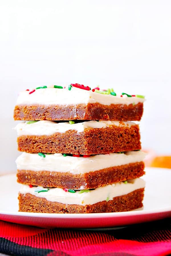 gingerbread bars B Gingerbread Bars