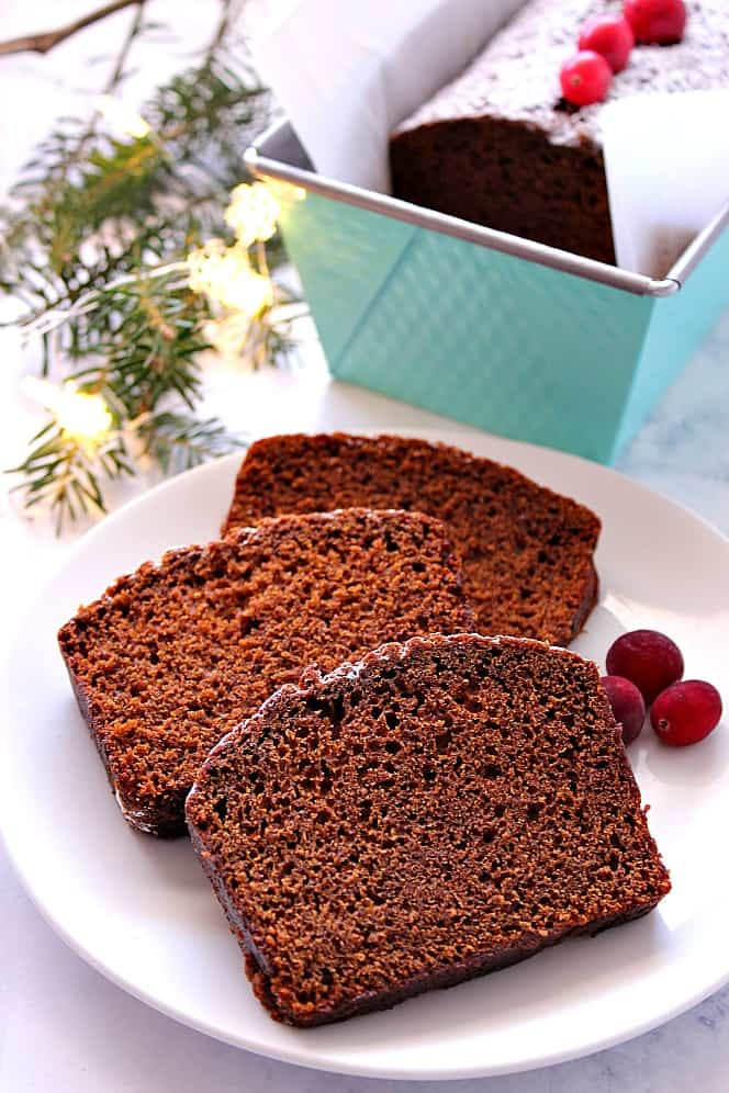 gingerbread loaf cake recipe 1 Gingerbread Loaf Cake Recipe