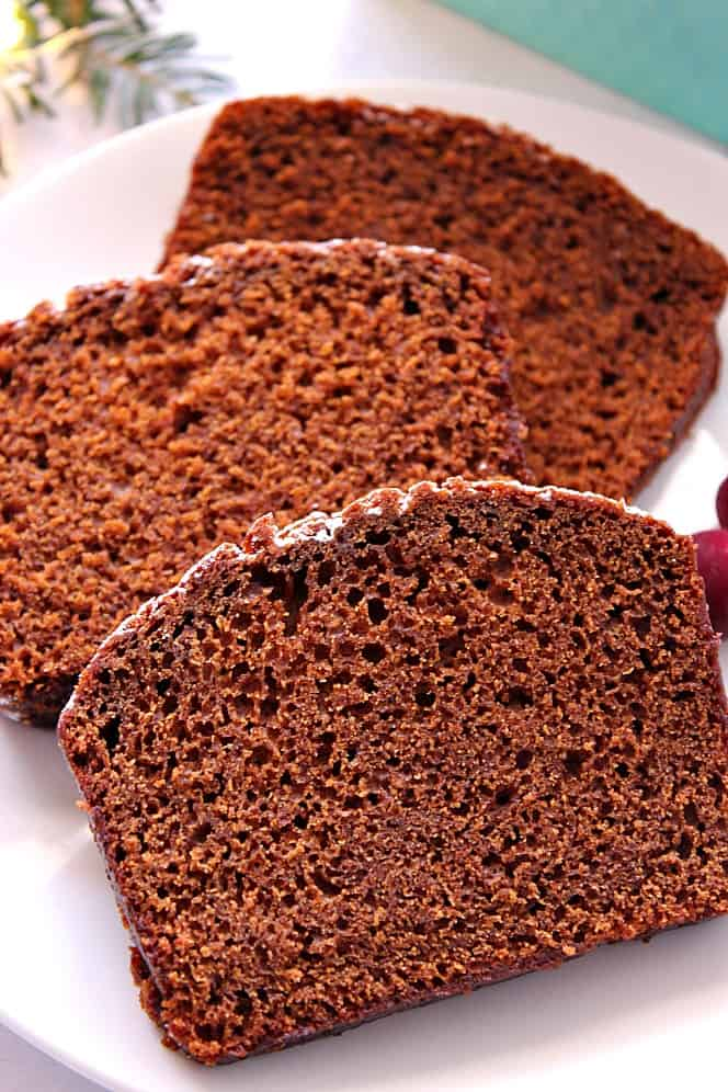 gingerbread loaf cake recipe 3 Gingerbread Loaf Cake Recipe