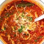 lasagna soup A 150x150 Easy Lasagna Soup