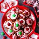peppermint pretzel bites recipe 1 150x150 Peppermint Pretzel Candy Recipe