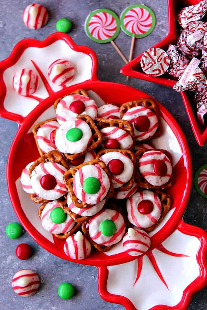 peppermint pretzel bites recipe 1 Peppermint Pretzel Candy Recipe