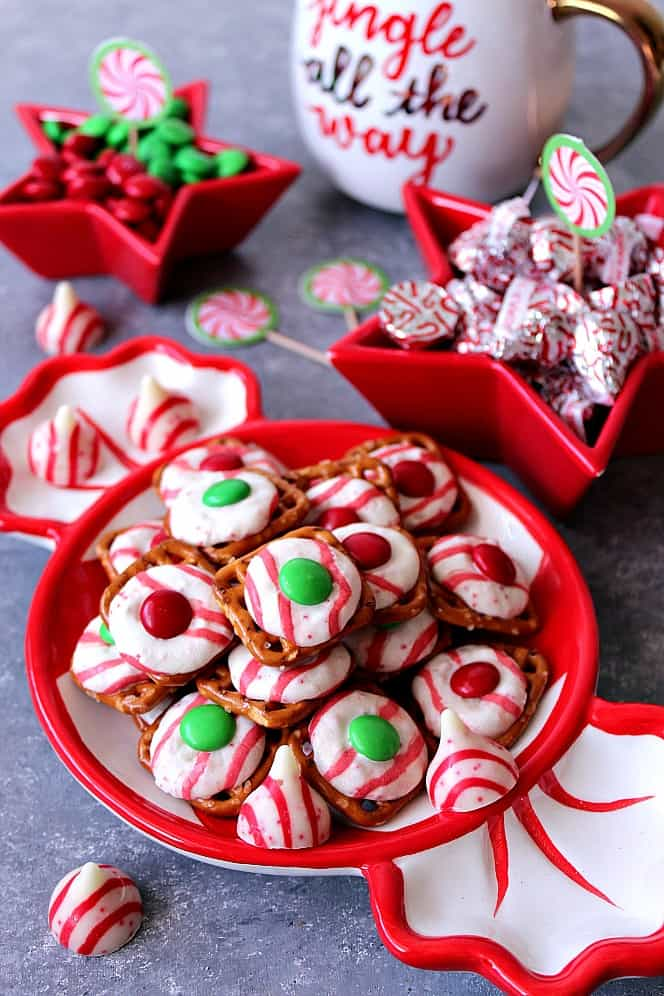 peppermint pretzel bites recipe 2 Peppermint Pretzel Candy Recipe