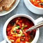 Instant Pot minestrone soup A 150x150 Instant Pot Minestrone Soup