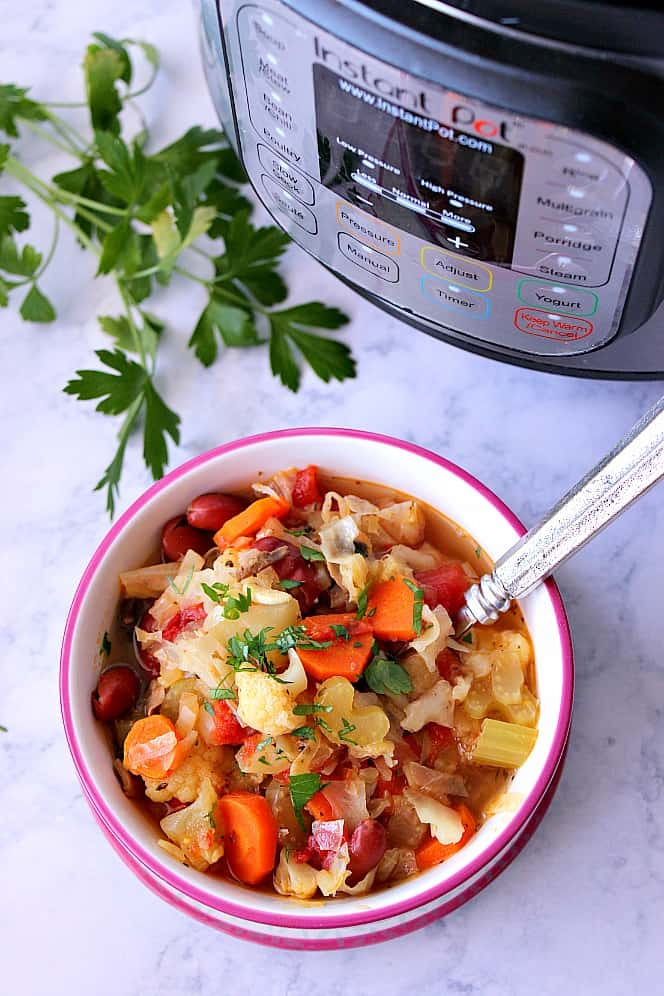 instant pot detox vegetable soup recipe Instant Pot Weight Loss Vegetable Soup Recipe