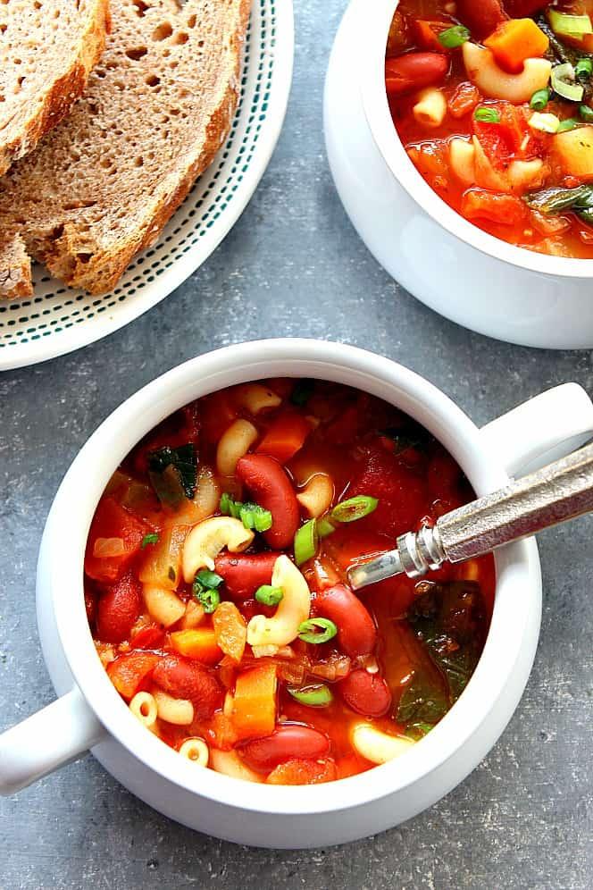 instant pot minestrone 2 Instant Pot Minestrone Soup