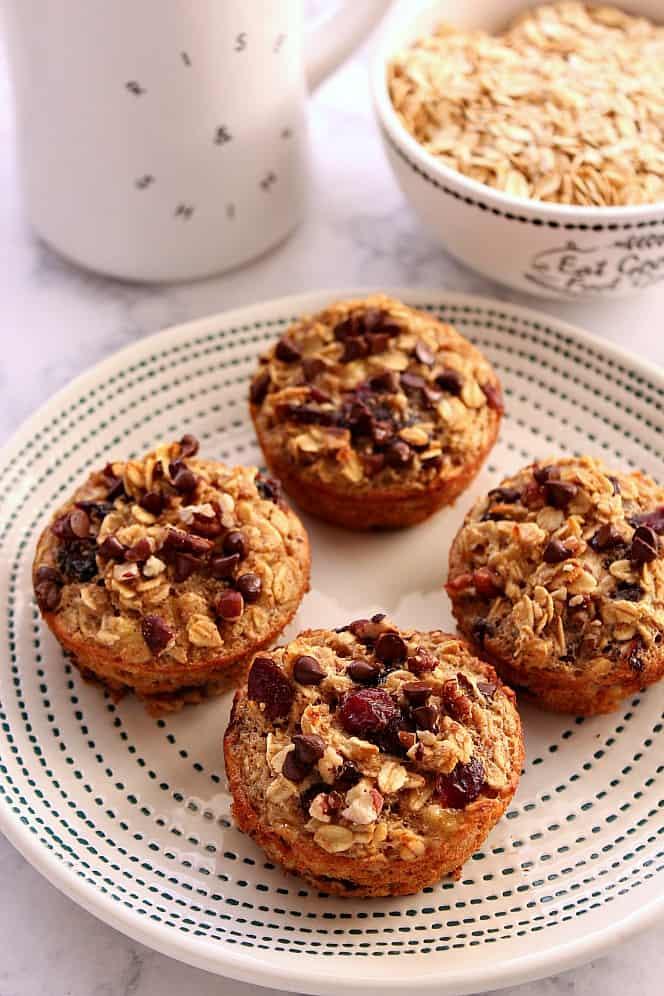 oatmeal cups recipe 3 Easy Baked Oatmeal Cups Recipe