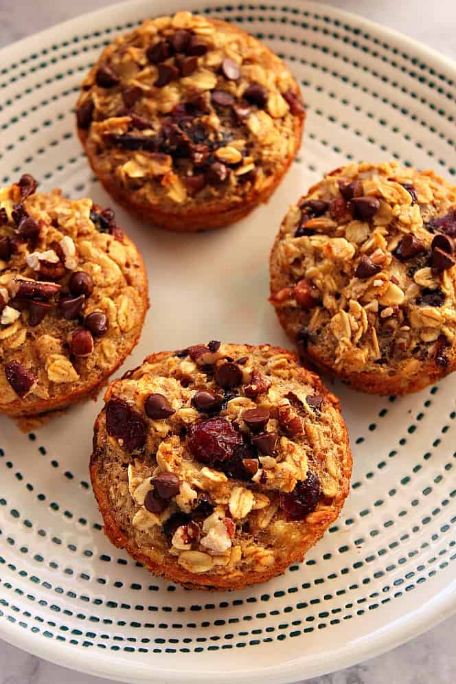 oatmeal cups recipe 5 Easy Baked Oatmeal Cups Recipe