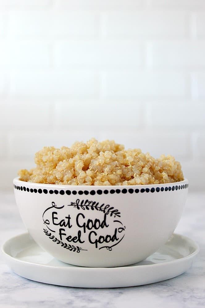 1 minute quinoa instant pot 1 1 Minute Instant Pot Quinoa Recipe